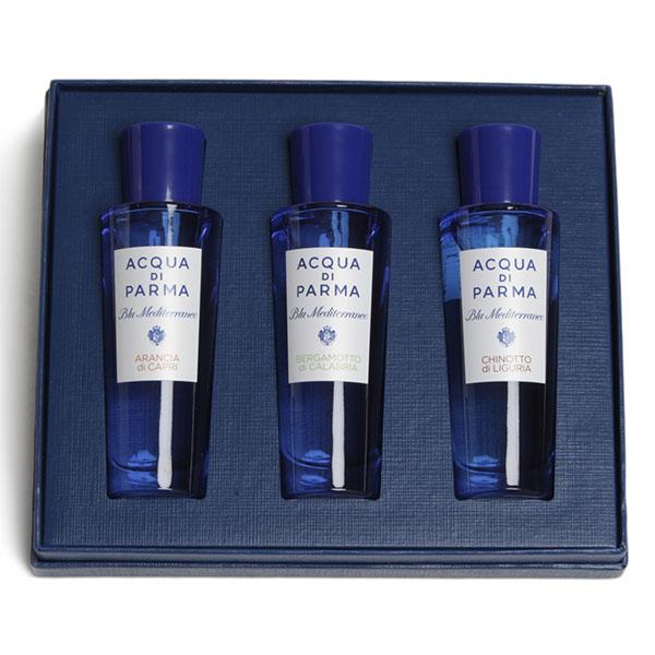 【寺田セット】アクアディパルマ ACQUA di PARMA 香水 フレグランス セット Blu Mediterraneo ARANCIA BERGAMOTTO CHINOTTO オードトワレ
