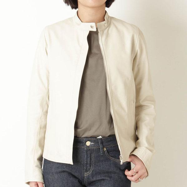 EMMETI エンメティ レディース ライダースジャケット シングル レザー JASMINE