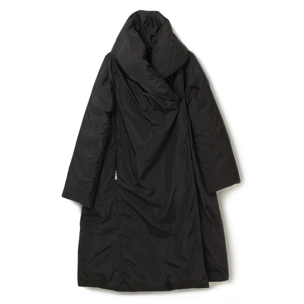 add エーディーディー ダウン ロング丈コート KAW118 BLACK/ブラック