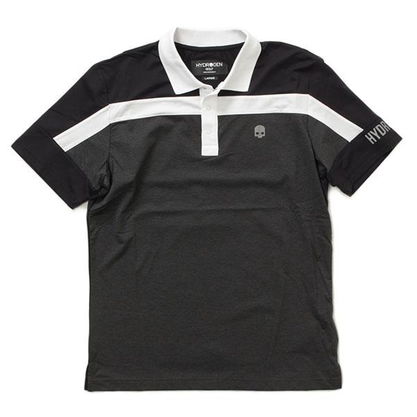 HYDROGEN ハイドロゲン ポロシャツ バイカラー サンダーロゴ 半袖 551-20440001