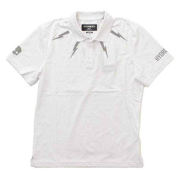 HYDROGEN ハイドロゲン ポロシャツ サンダーロゴ 半袖 551-20640001