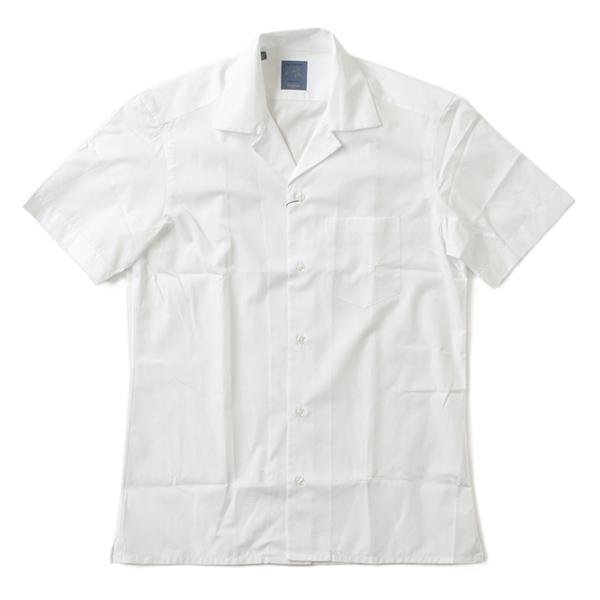 BARBA バルバ 開襟シャツ 半袖 メンズ オープンカラー コットン PB-PZ180