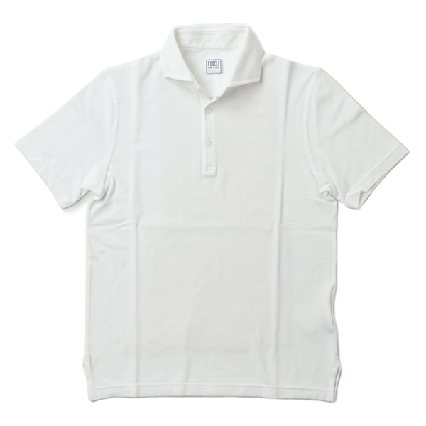 FEDELI フェデーリ ポロシャツ 半袖 コットン 2UEF0111J